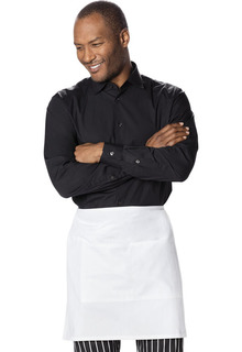 Half Bistro Waist Apron 6 piece pack-Dickies Chef
