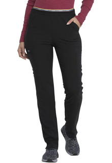 Mid Rise Tapered Leg Pull-on Cargo Pant-