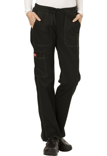 Gen Flex Low Rise Straight Leg Drawstring Womens Pant by Dickies