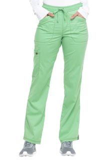 Essence Ladies Mid Rise Straight Leg Drawstring Pant - Dickies DK106-Dickies Medical