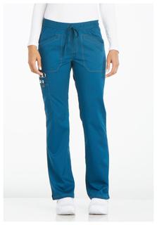 Essence Ladies Mid Rise Straight Leg Drawstring Pant - Dickies DK106-Dickies