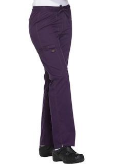 Mid Rise Straight Leg Drawstring Pant-