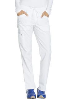 DK106 Mid Rise Straight Leg Drawstring Pant-