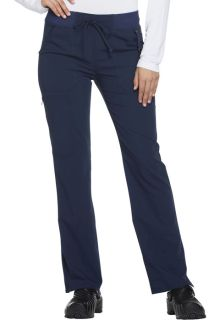 Xtreme Ladies Mid Rise Straight Leg Drawstring Pant - Dickies DK112-Dickies Medical