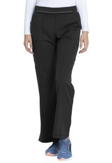 DK115 Mid Rise Moderate Flare Leg Pull-on Pant-