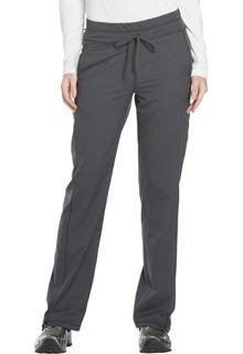 DK130 Mid Rise Straight Leg Drawstring Pant