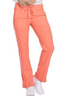 DK130 Mid Rise Straight Leg Drawstring Pant-
