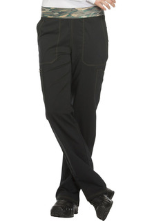 DEAL - Essence Ladies Mid Rise Pull-on Pant - Dickies DK140-