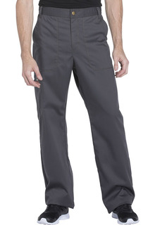 Mens Drawstring Zip Fly Pant
