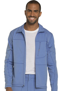 Dynamix Men's Zip Front Warm-up Jacket - DK310-Dickies Medical