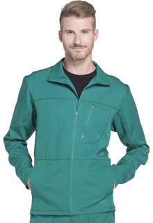 DK310 Mens Zip Front Warm-up Jacket-Dickies