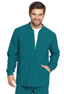 Mens Zip Front Warm-Up Jacket-Dickies