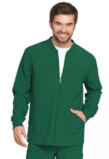 Mens Zip Front Warm-Up Jacket-