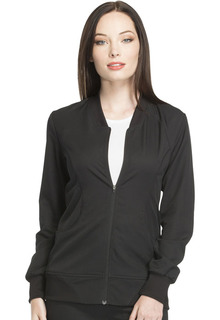 DK330 Zip Front Warm-up Jacket