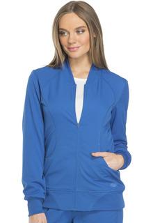 Dynamix Ladies Zip Front Warm-up Jacket - DK330-Dickies
