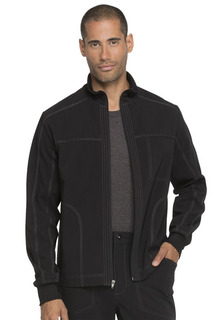 Dickies Mens Zip Front Scrub Jacket-