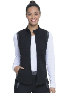 Dickies Dynamix Medical Quilted Zip Front Vest-Dickies