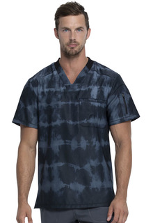 Dynamix NEW Tie Dye Men's V-Neck Top-Dickies