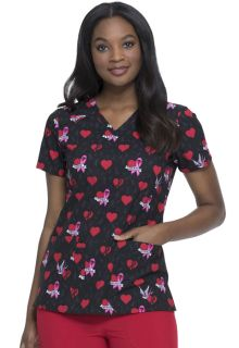 Dickies Print V-Neck Top-Dickies