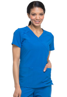 Dickies Medical EDS Essentials DK625 Mock Wrap Top-Dickies