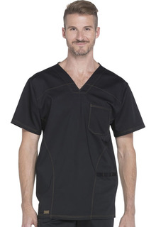 DK630 Mens V-Neck Top-Dickies Medical