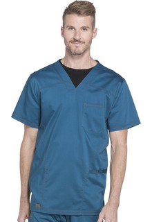 Essence Men's V-Neck Top - Dickies DK630 -Dickies Medical