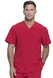 Mens Tuckable V-Neck Top-Dickies Medical