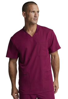 DK640 Mens V-Neck Top-Dickies Medical