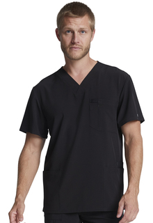 Dickies EDS Men's V-Neck 4 Pocket Scrub Top-DK645-Dickies