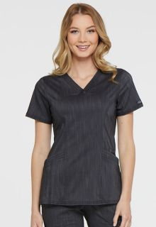 DK680 V-Neck Top-Dickies Medical