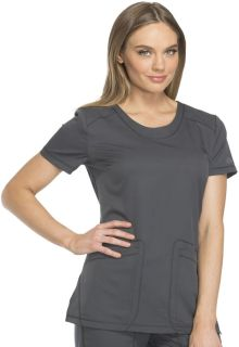 Dickies Dynamix Medical Rounded V-Neck Top-Dickies