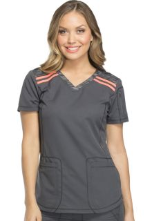 DK740 V-Neck Top-Dickies Medical