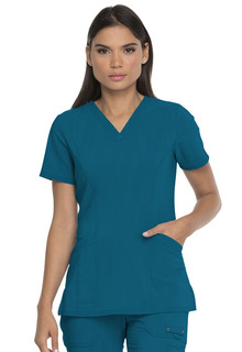 Advance 2 Pocket V Neck - DK755-Dickies Medical