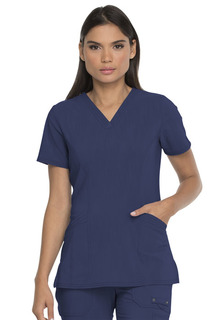 WSL - Advance 2 Pocket V Neck Top by Dickies DEAL-