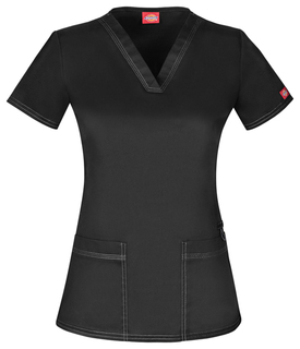 DK800 V-Neck Top-Dickies Medical