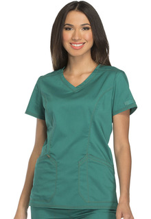 Essence Ladies V-Neck Top - Dickies DK803-Dickies