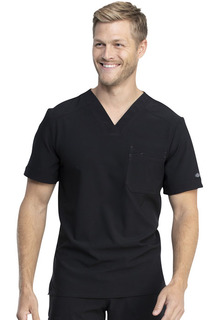 DK810 Mens Tuckable V-Neck Top-Dickies