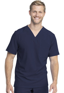 Mens V-Neck Top-Dickies Medical