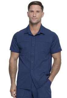 Dynamix Men's Button Front Collar Shirt-Dickies