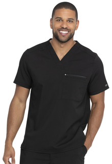 Mens Tuckable V-Neck Top-Dickies Medical