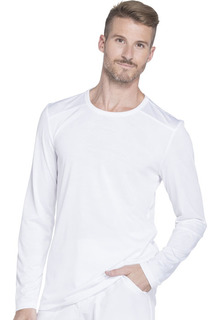 DK910 Mens Long Sleeve Underscrub Knit Top-Dickies Medical