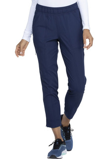Mid Rise Tapered Leg Ankle Pant-