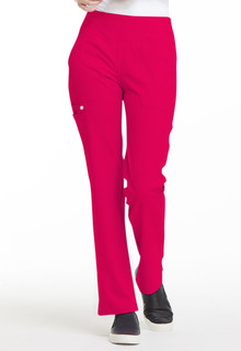 EL130 Mid Rise Straight Leg Pull-on Pant-Elle