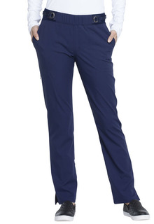 Mid Rise Tapered Leg Pull-on Pant-Elle