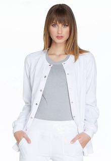 EL300 Snap Front Warm-up Jacket-Elle