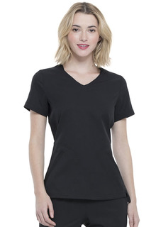 Elle Medical Simply Polished EL604 V-Neck Top-Elle