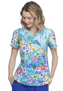 EL667 V-Neck Top-