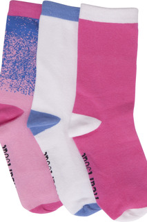 FREESPIRIT 1-3pr pack of Crew Socks-HeartSoul