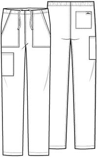 Unisex Mid Rise Straight Leg Pant-Dickies