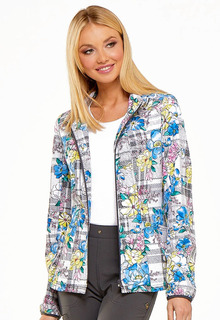 HS301 Zip Front Jacket-Heartsoul